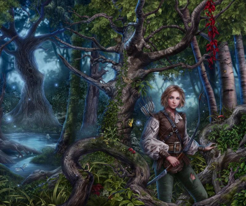 Crear personajes de fantasía